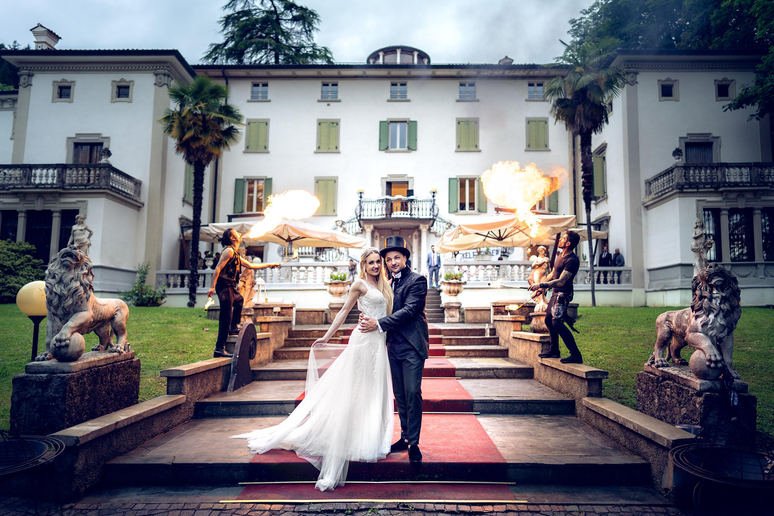 074 reportage sposi foto matrimonio fachiri palazzo maestri bergamo 1