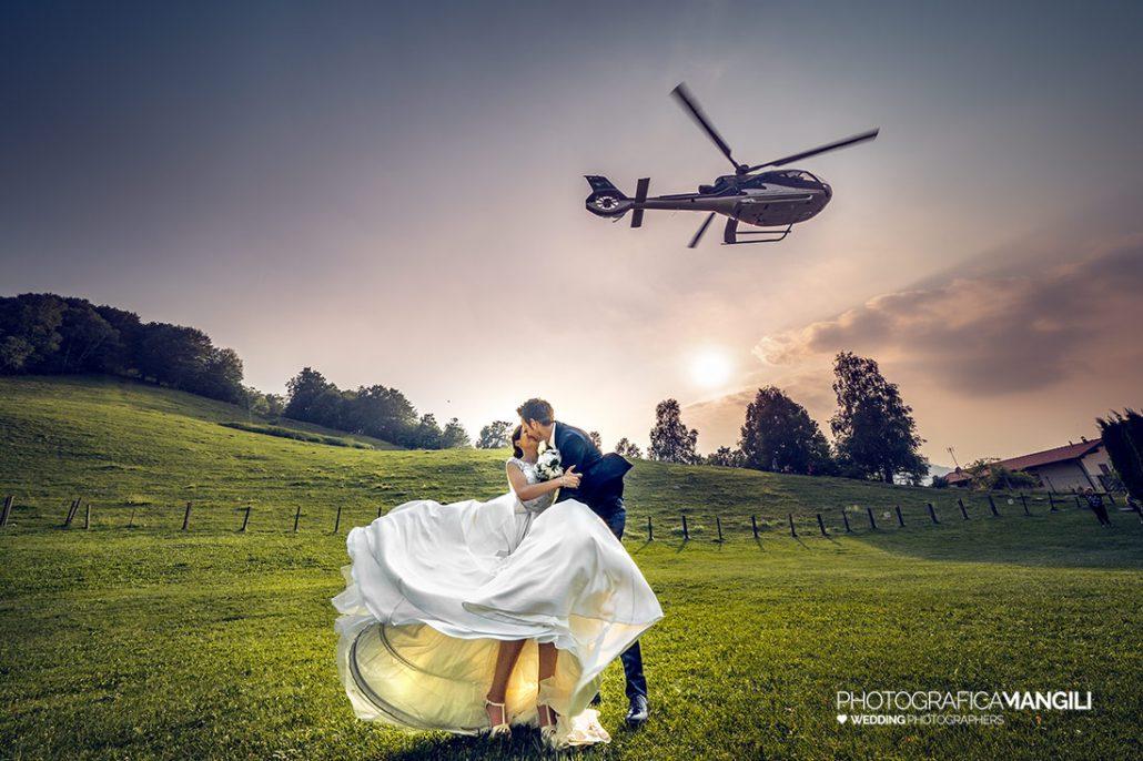 000 reportage sposi foto matrimonio elicottero wedding madonnina barni como