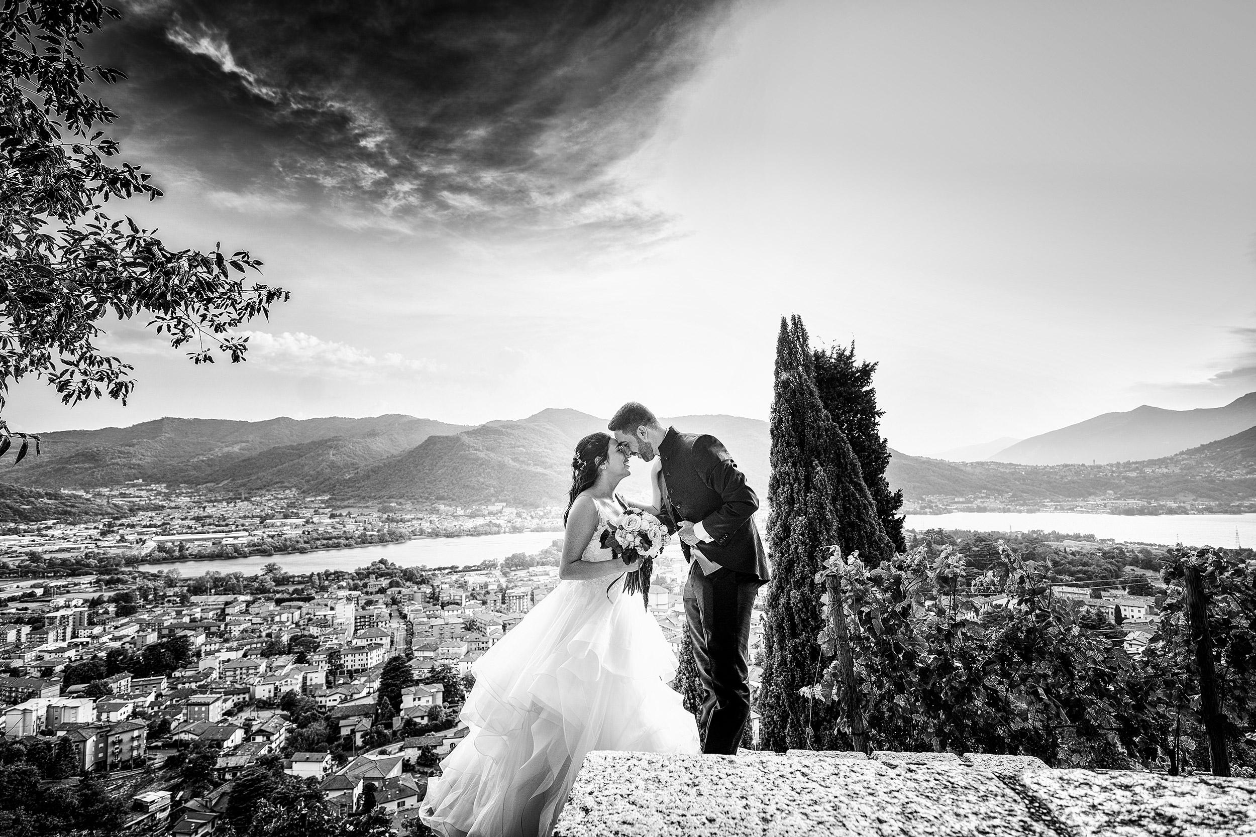000 reportage wedding sposi foto matrimonio castello rossino lecco vista lago como 3