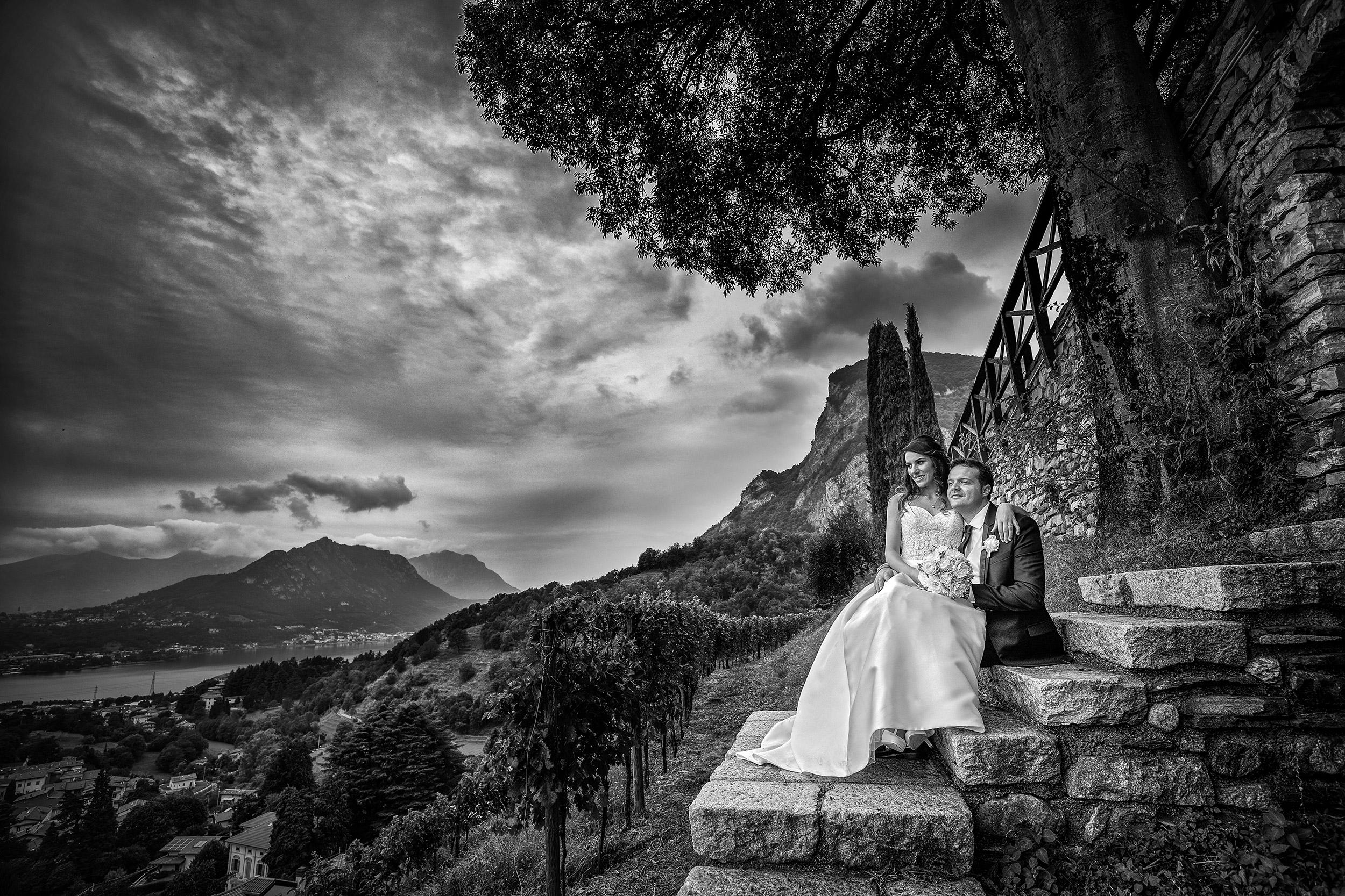 000 reportage sposi foto matrimonio wedding castello rossino calolziocorte lecco lago como copia 3