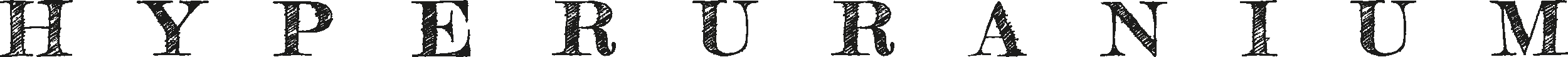 Hyperuranium titolo