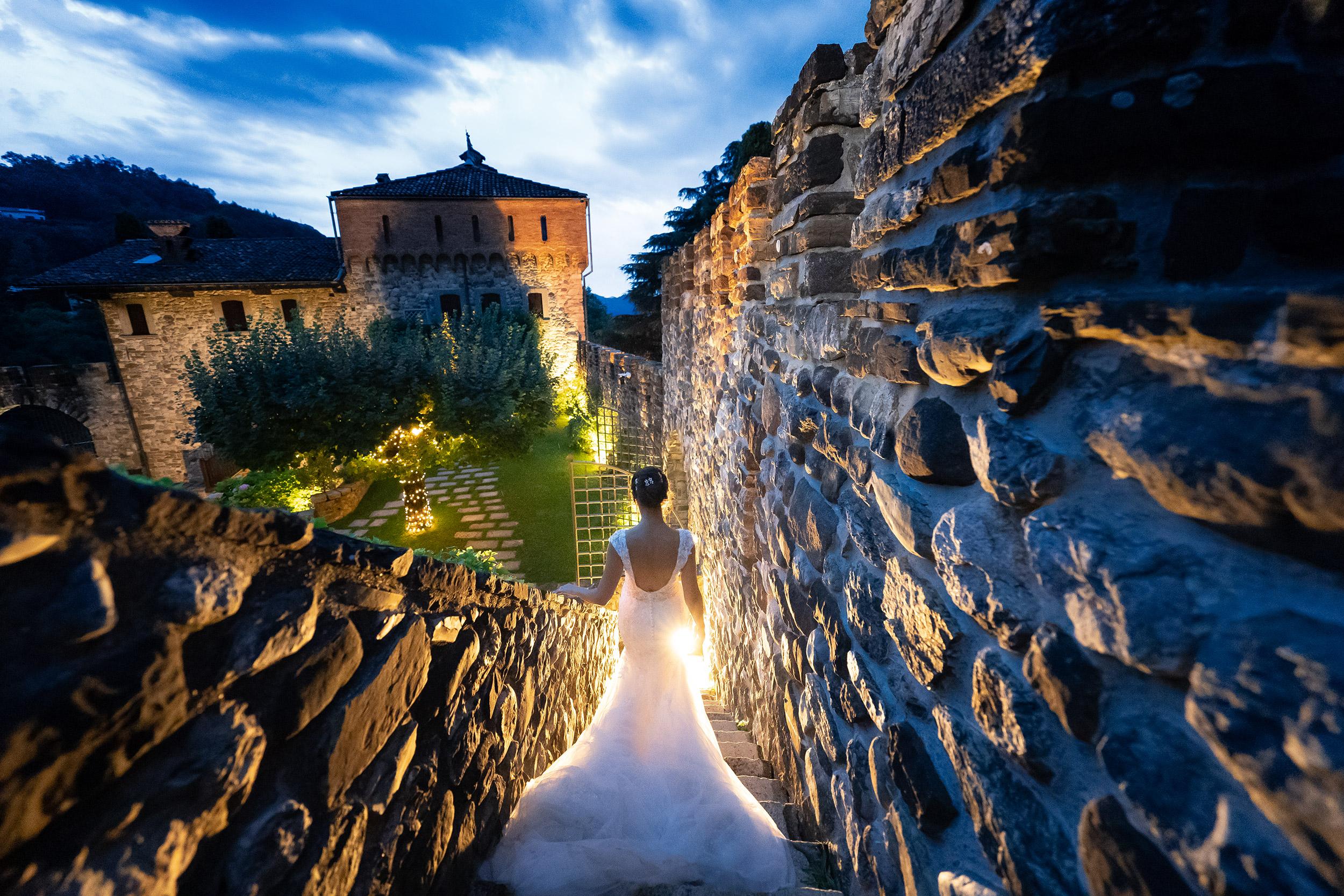 000 fotografo matrimonio reportage real wedding ritratto sposi luce blu castello rossino calolziocorte lago como lecco